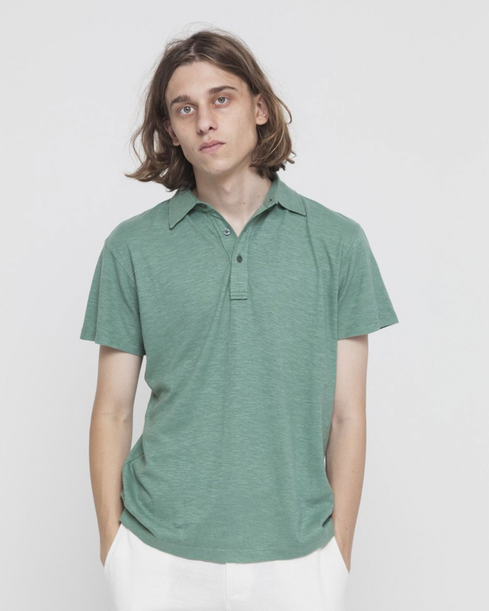 Hemp Green Polo
