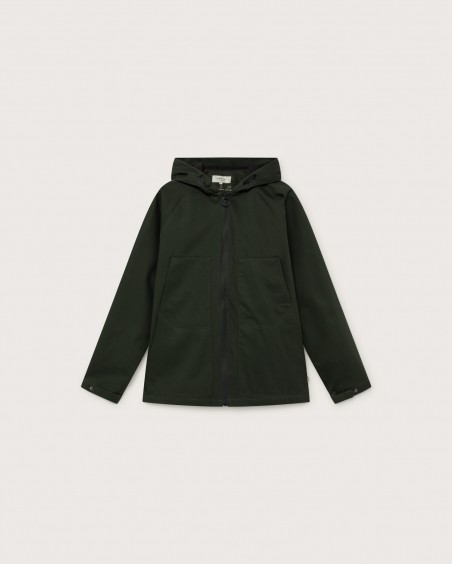 GREEN TRASH PEKO JACKET