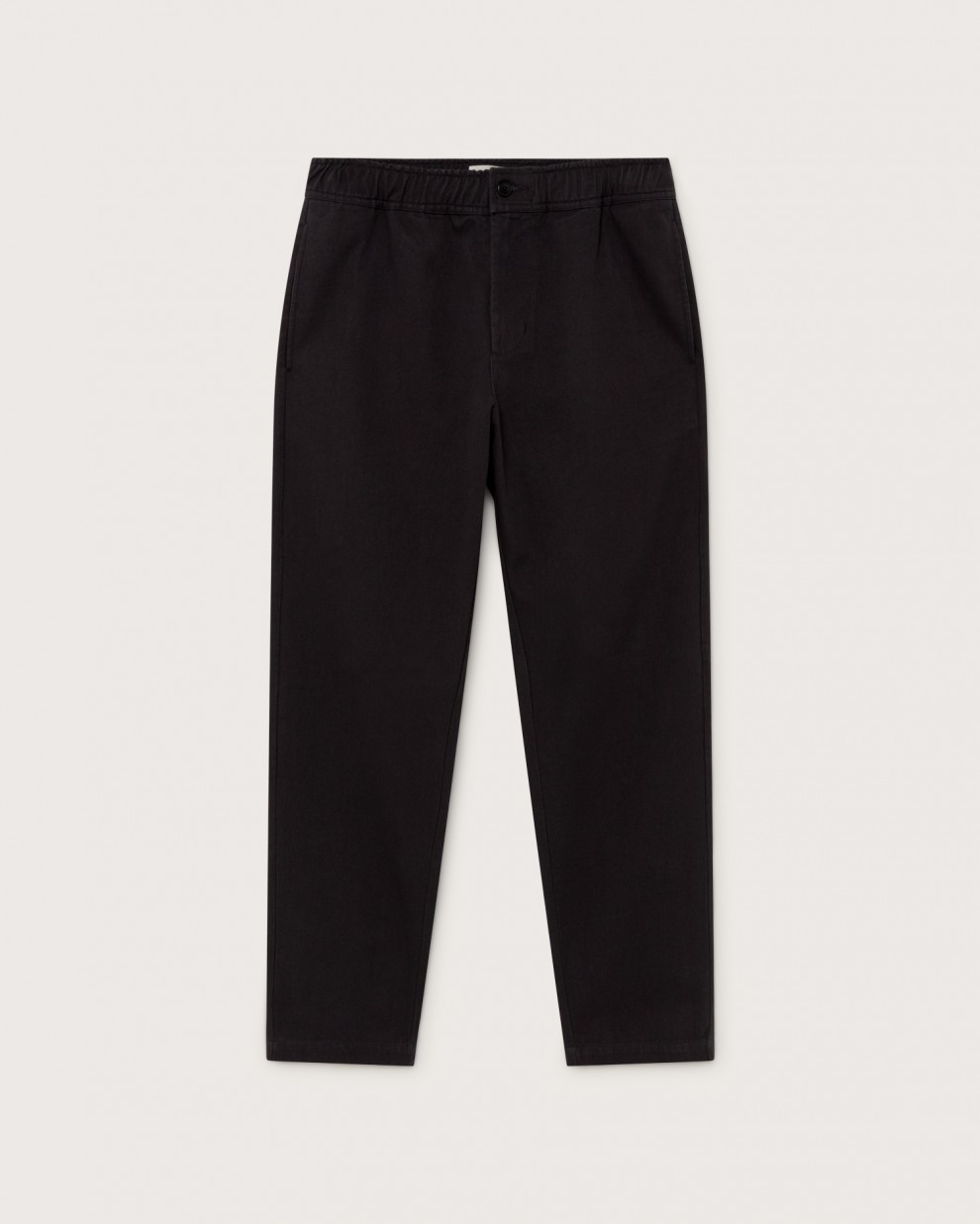 BLACK TRAVEL PANTS