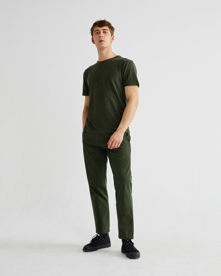GREEN TRAVEL PANTS