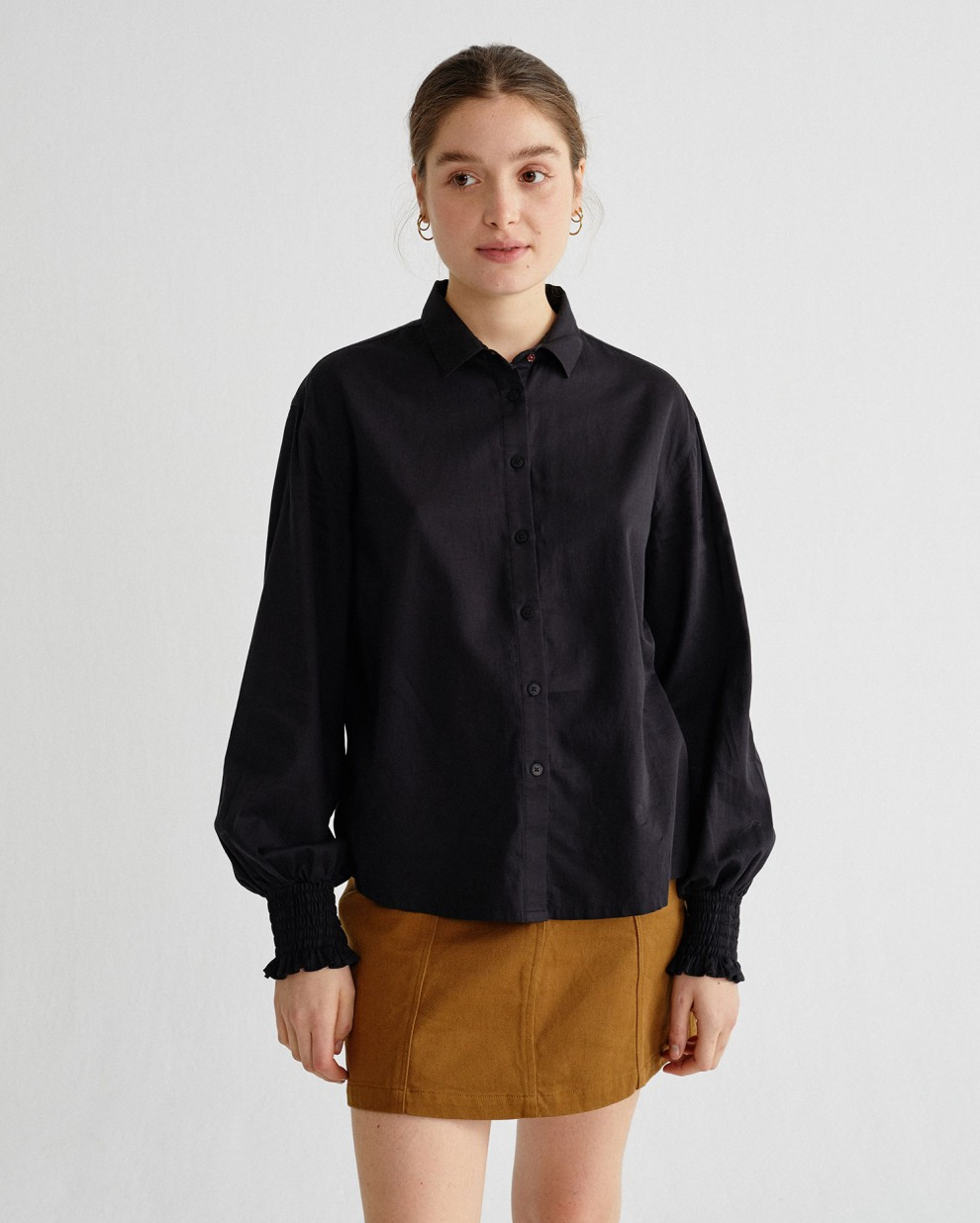 BLACK CERES BLOUSE