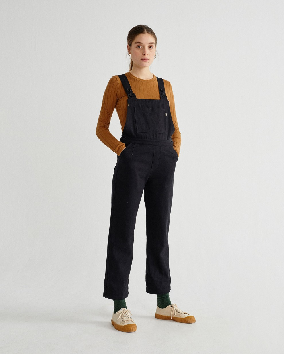BLACK HEMP VENUS OVERALL
