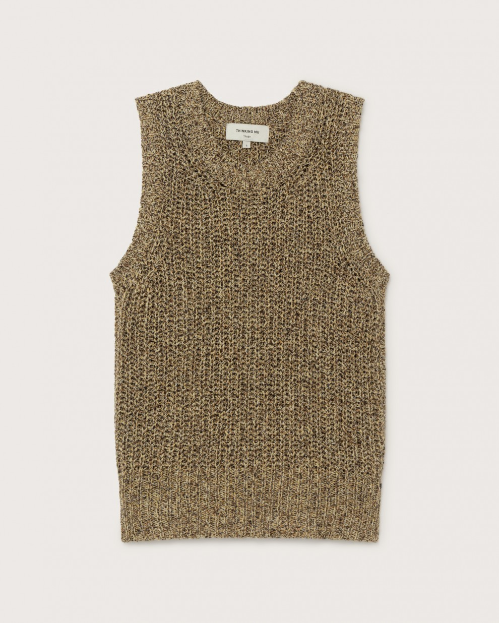 YELLOW TRASH MUT KNITTED VEST
