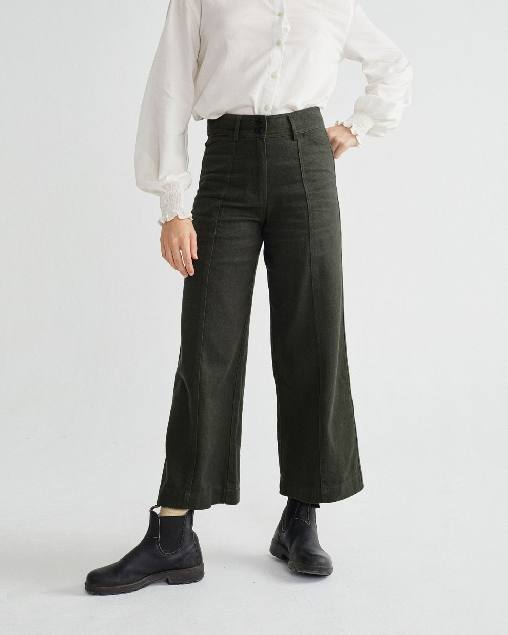 GREEN HEMP KUPALO PANTS