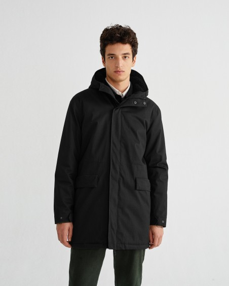 BLACK TRASH PEPS COAT