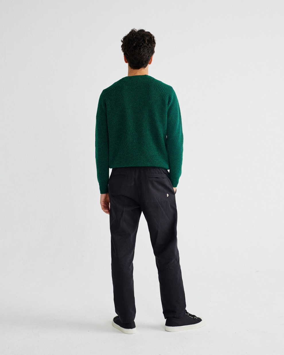 GREEN ANTEROS SWEATER