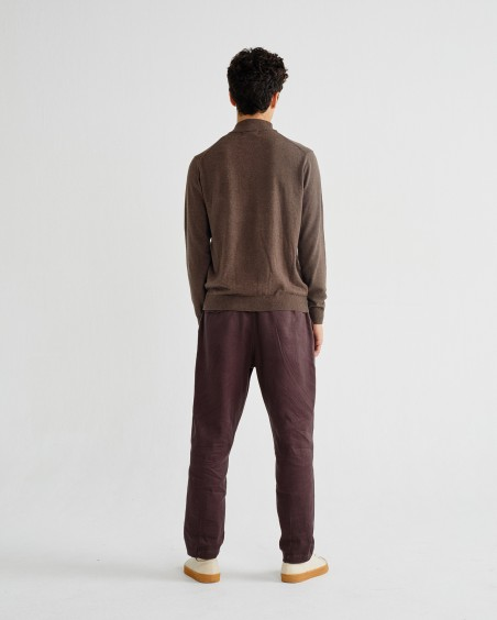 BROWN MARTIN SWEATER