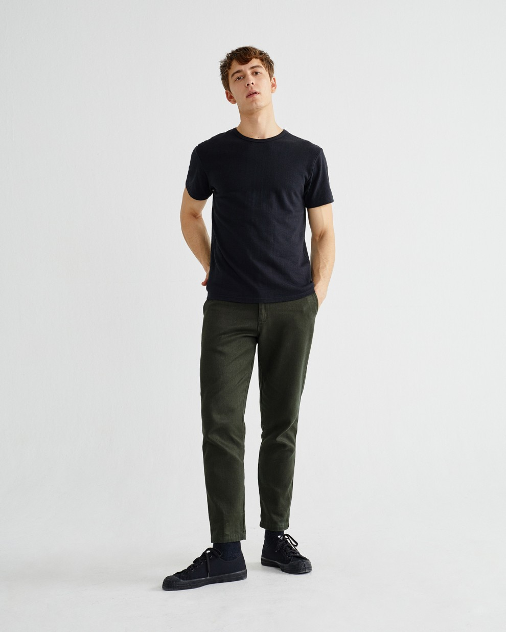 GREEN HEMP MARCELINO PANTS