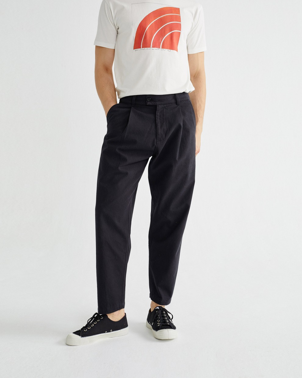 BLACK WOTAN PANTS