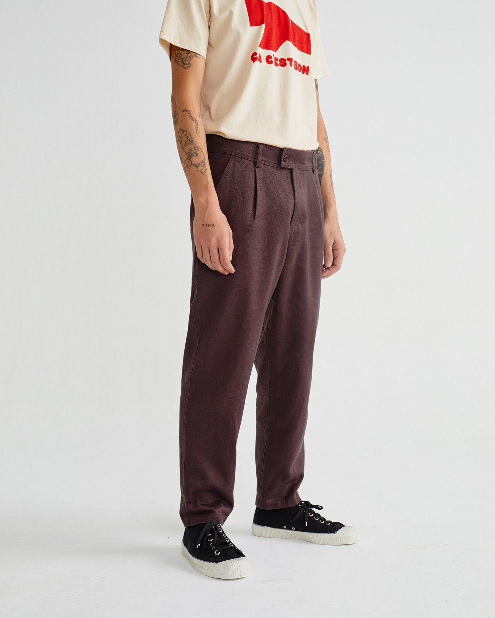 CHOCOLATE HEMP WOTAN PANTS