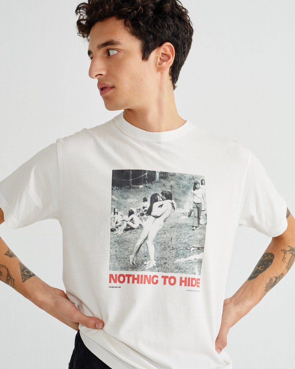 NOTHING TO HIDE T-SHIRT