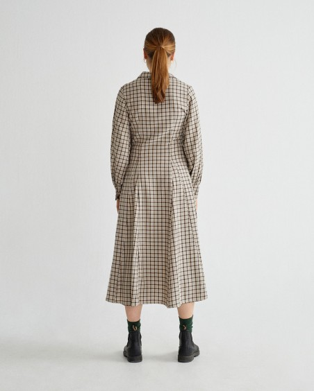 SMALL CHECKS FREYA DRESS
