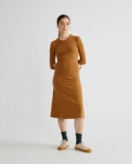 CARAMEL TRASH HATHOR DRESS