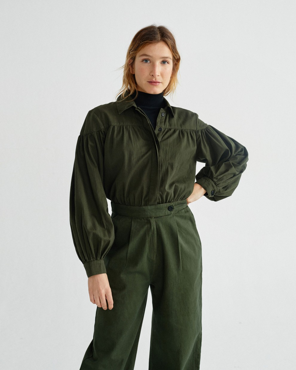 GREEN THALIA JUMPSUIT