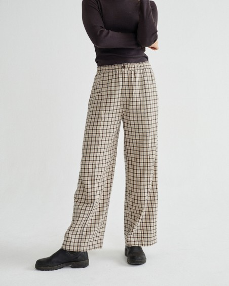 SMALL CHECKS MAIA PANTS