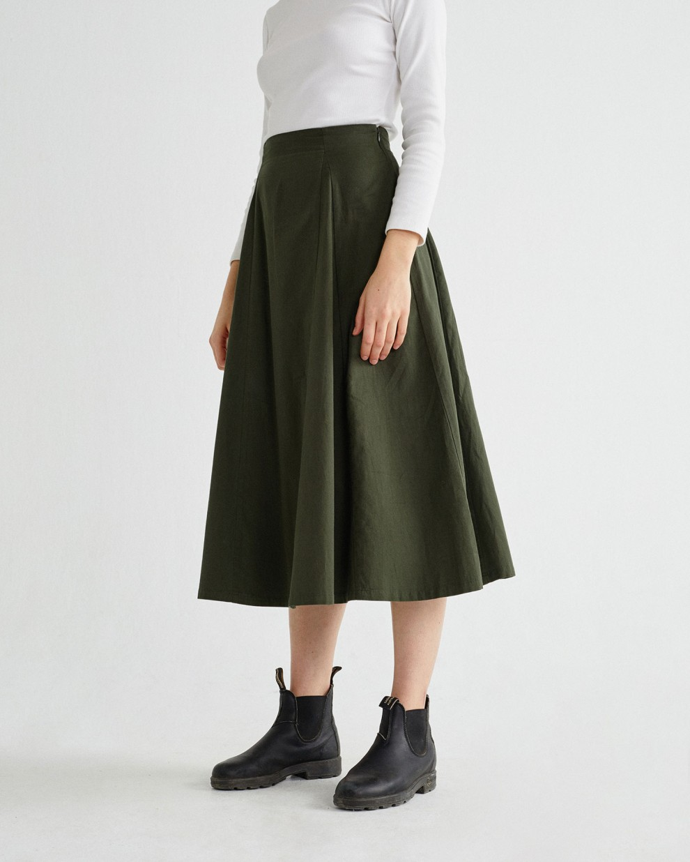 GREEN RATI SKIRT