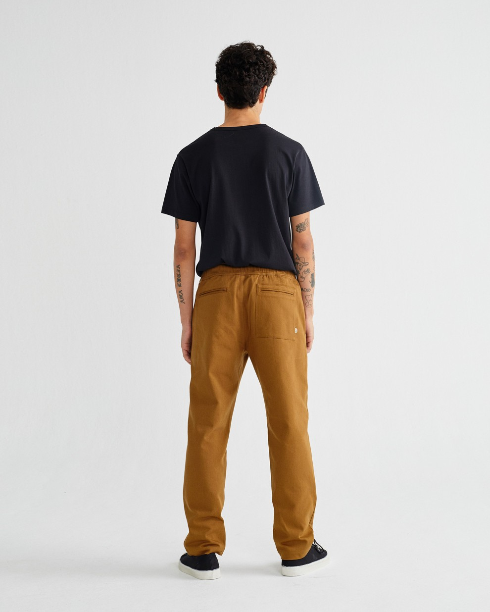 Caramel travel pants