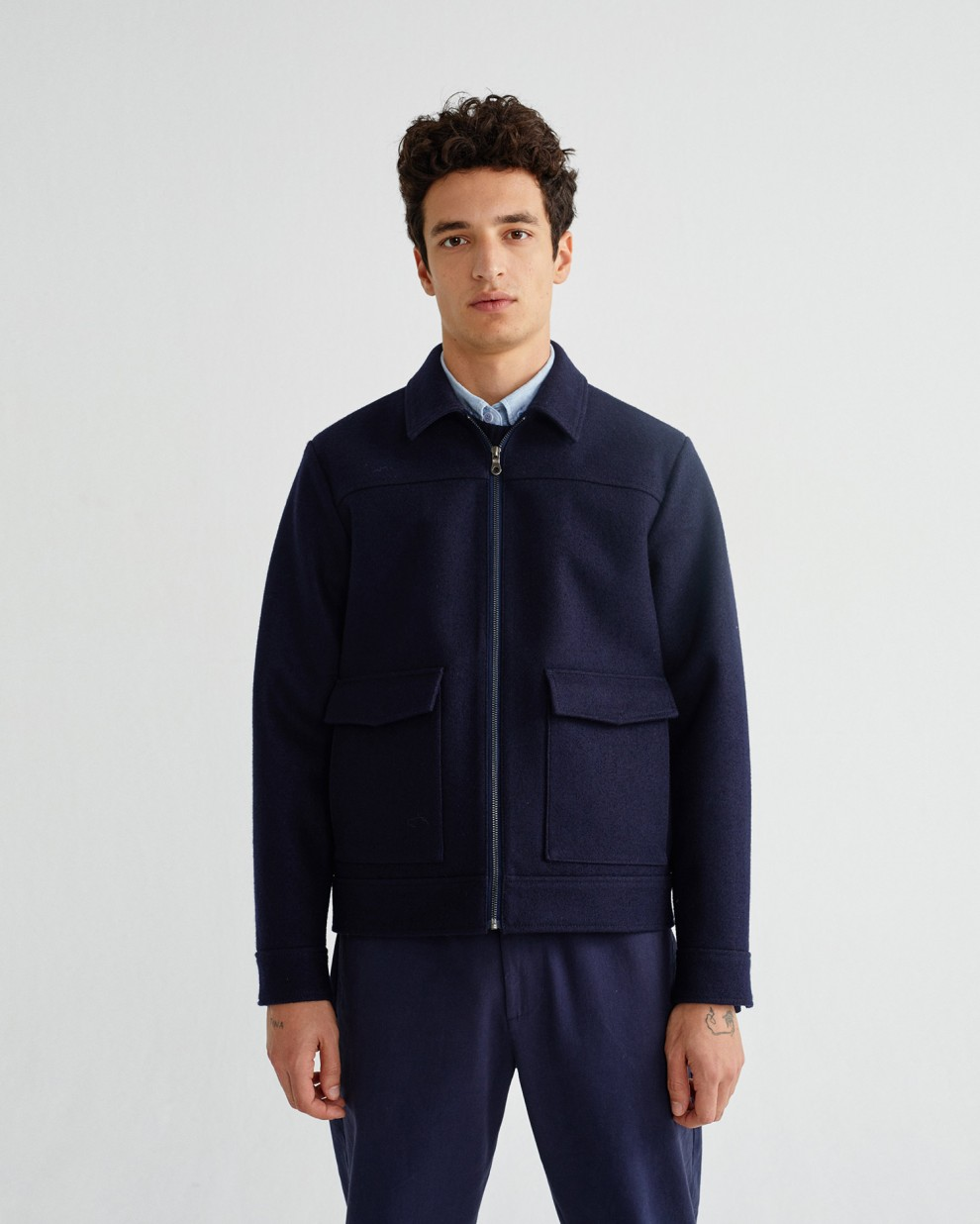NAVY ROD JACKET