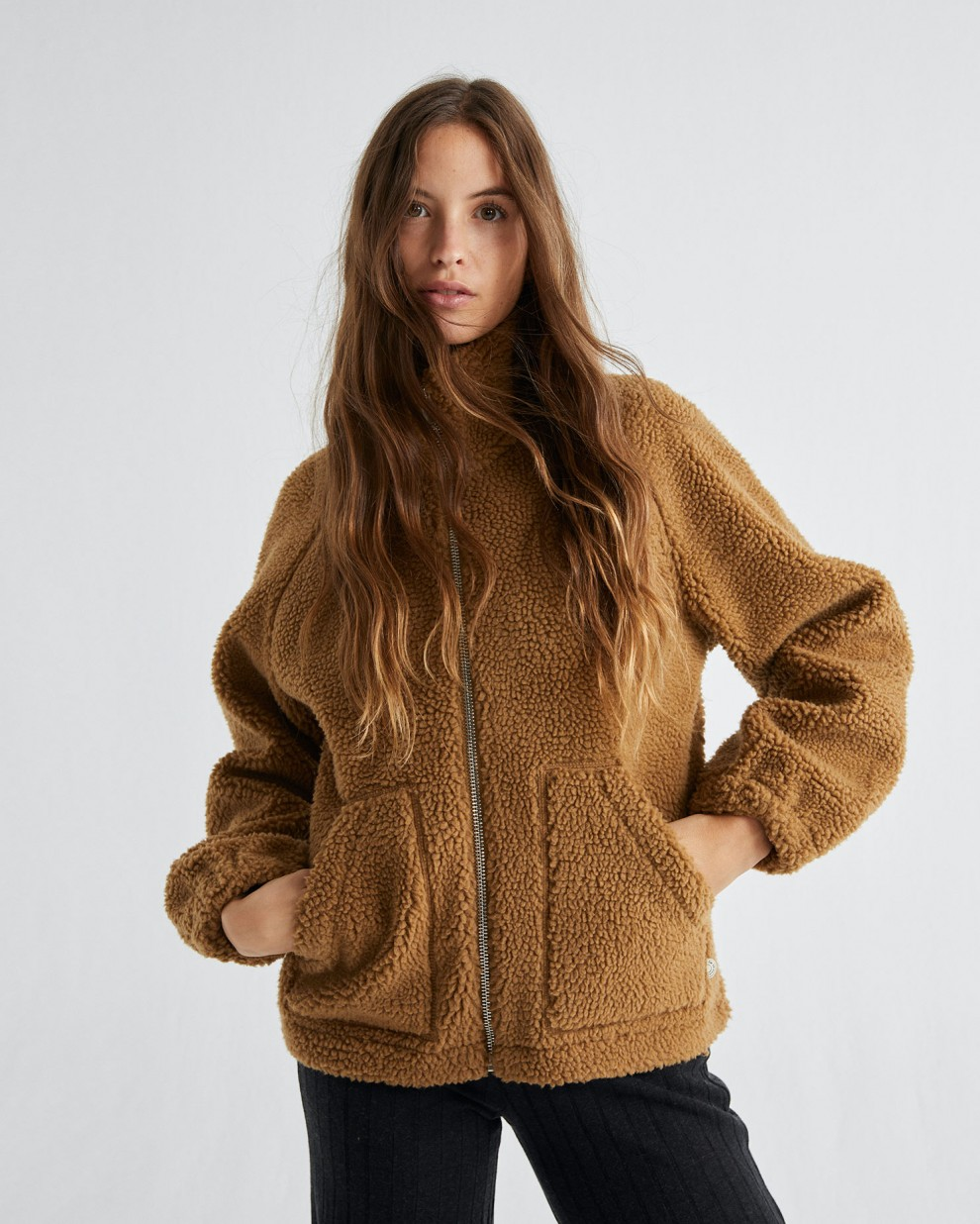 CARAMEL TRASH HEBE JACKET