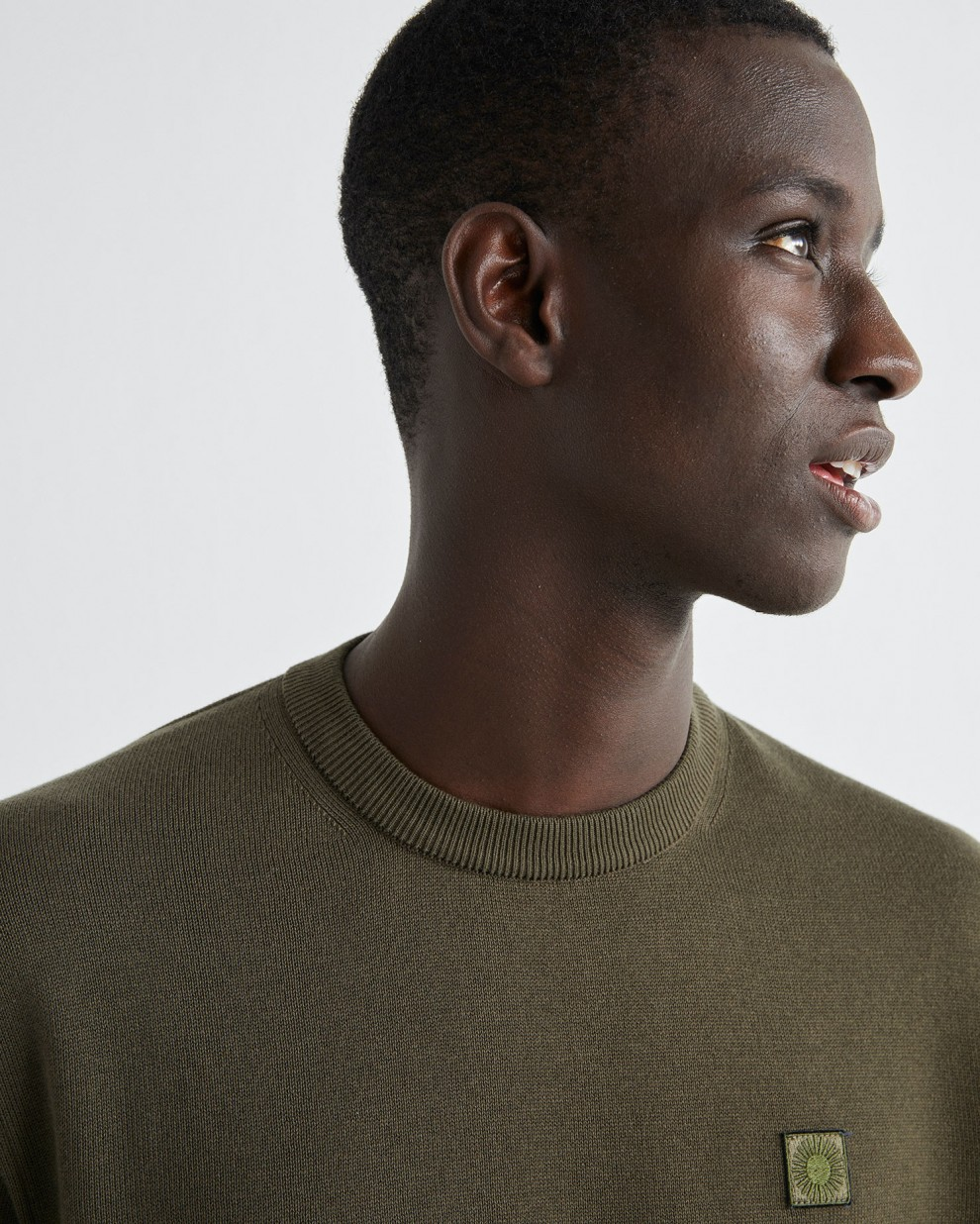 Olive green Orlando sweater
