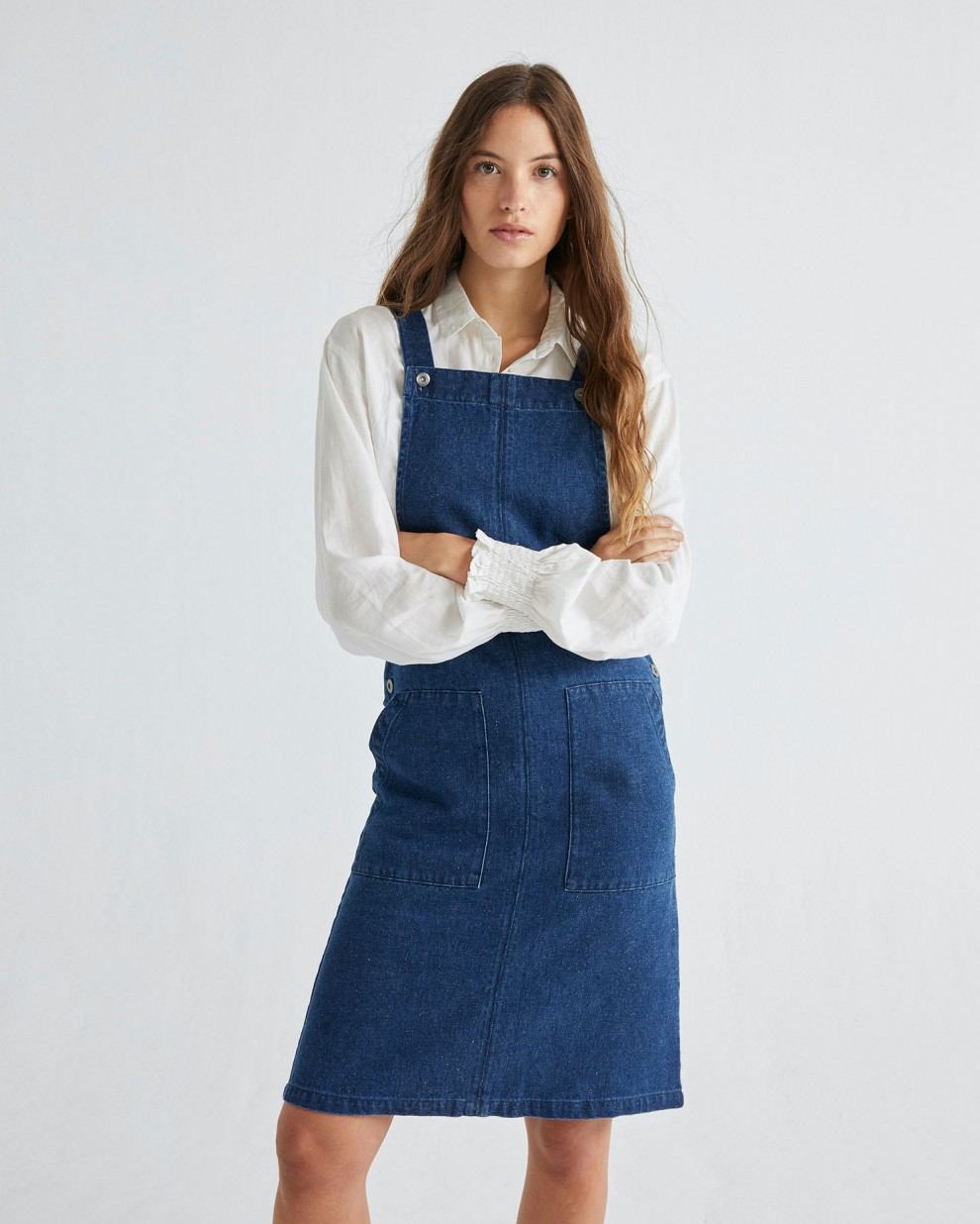 VESTIDO BELL HEMP DENIM