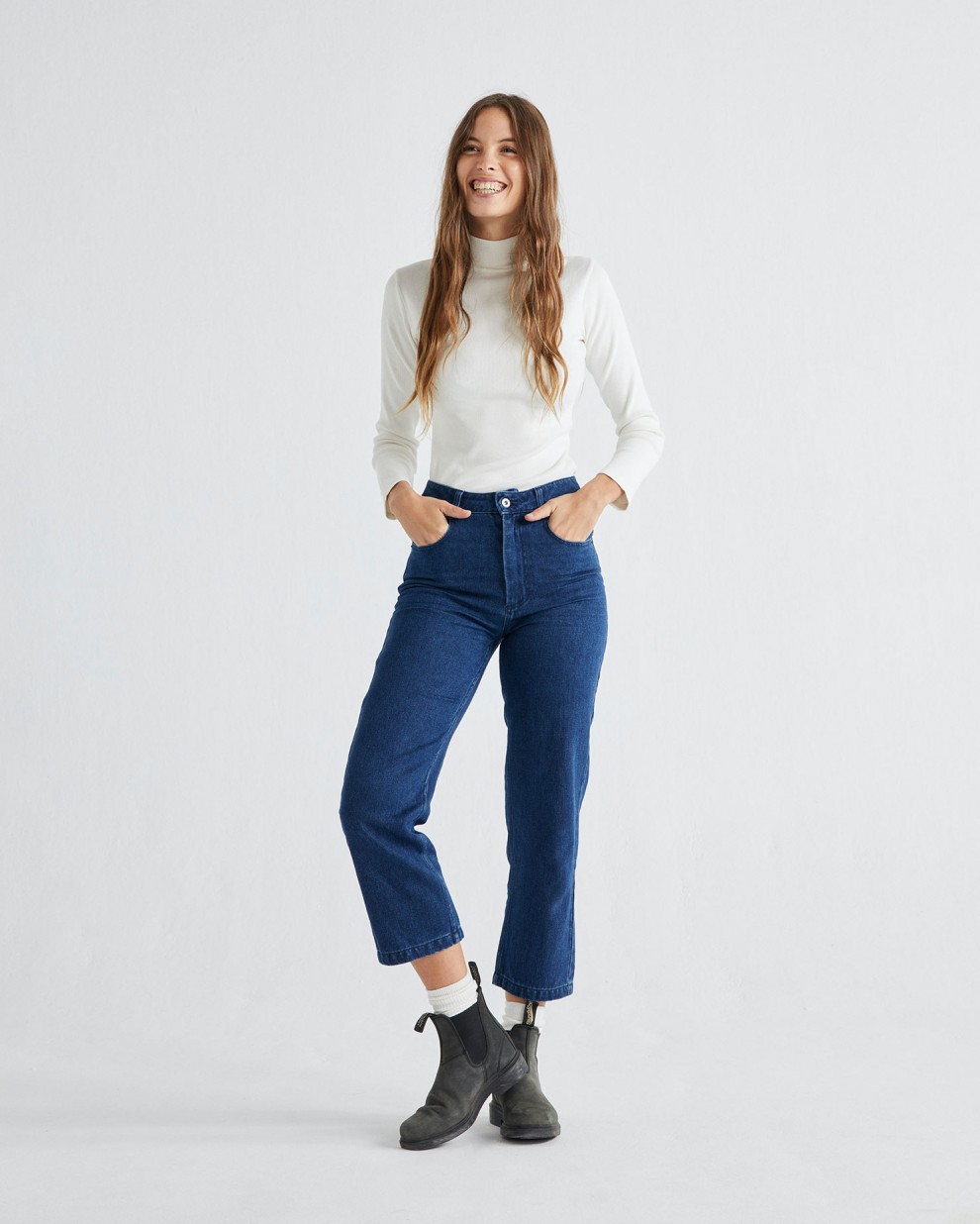 PANTALÓN NELE HEMP DENIM