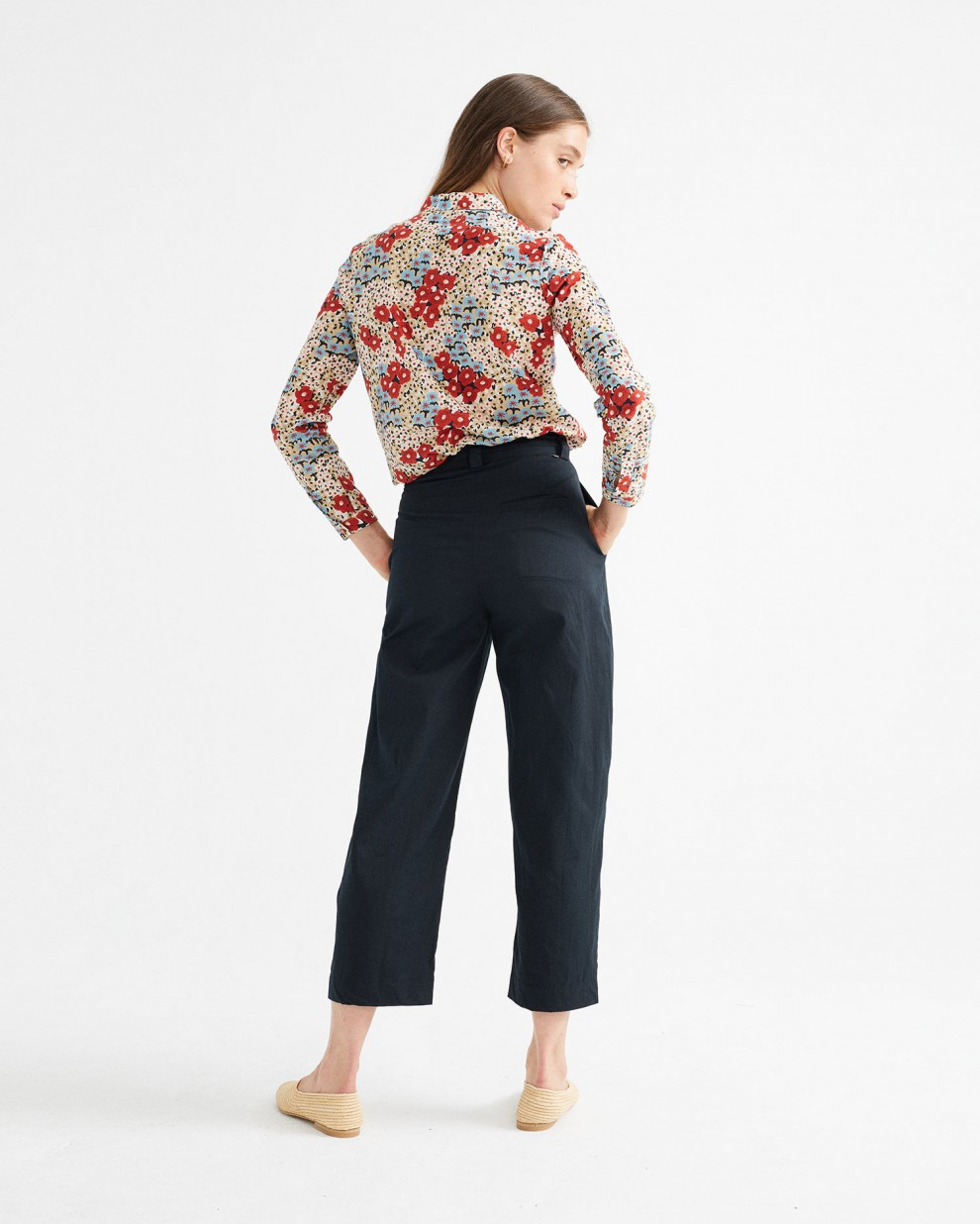 BLUSA CHAMOMILE SMALL FLOWERS