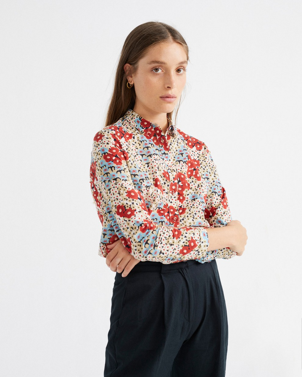 SMALL FLOWERS CHAMOMILE BLOUSE