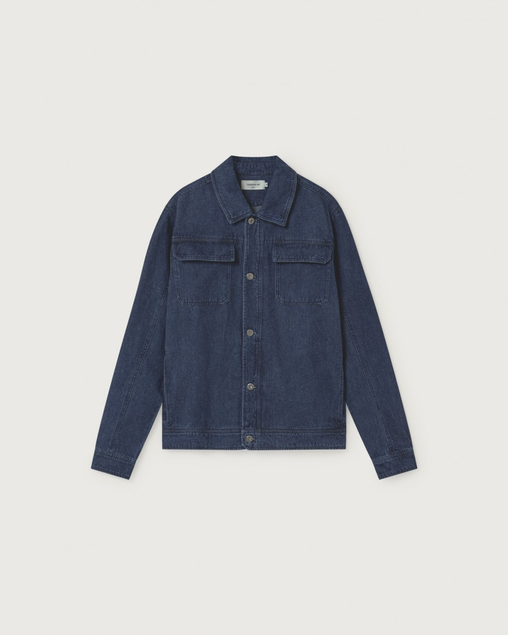 DENIM HEMP ODONATA JACKET