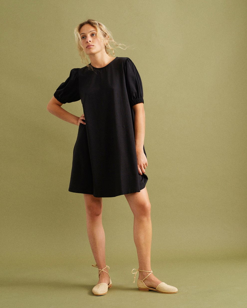 Floreta black dress