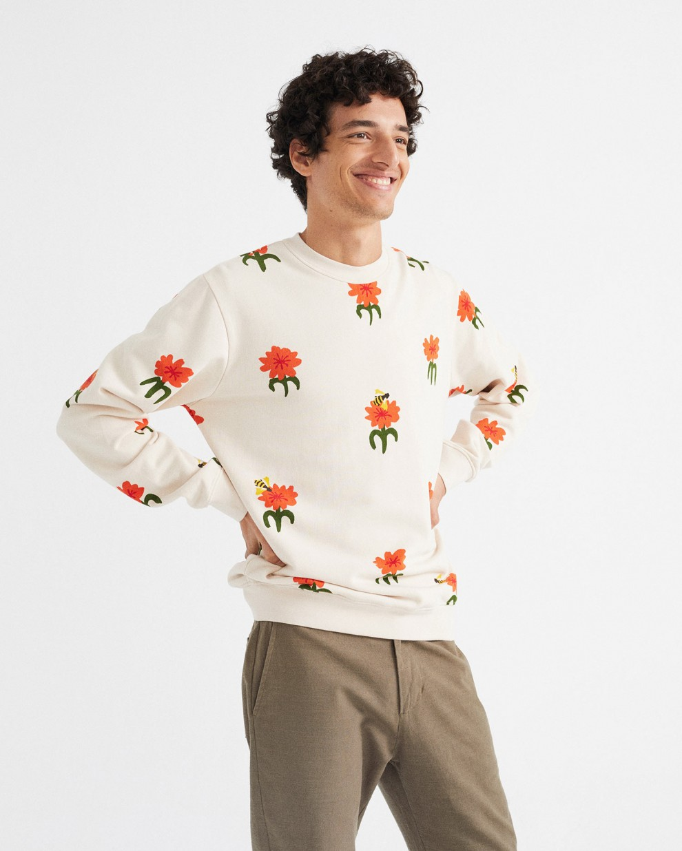 CARNATIONS SWEATSHIRT