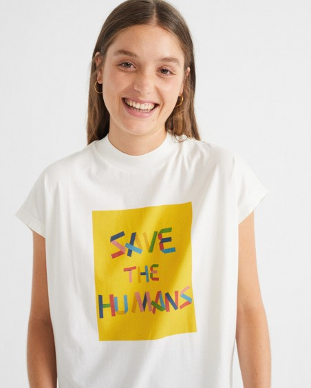 CAMISETA SAVE THE HUMANS