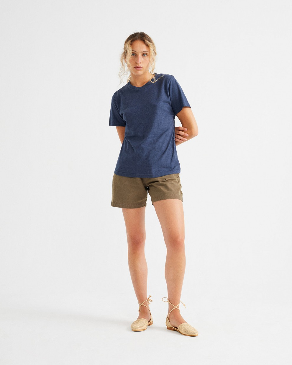 CAMISETA HEMP JUNO NAVY