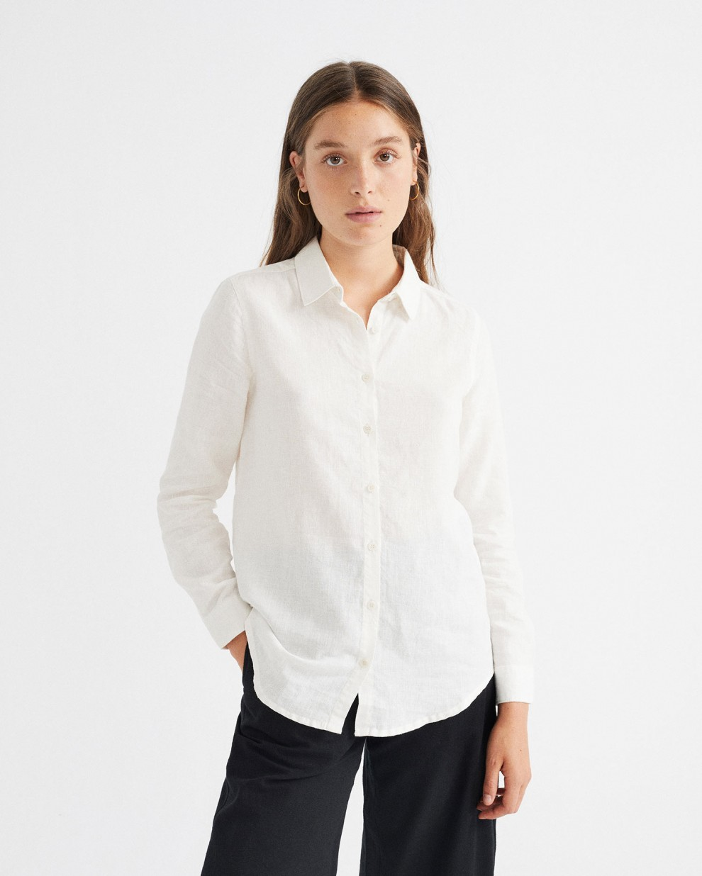 CAMISA HEMP MAPPLE BLANCO