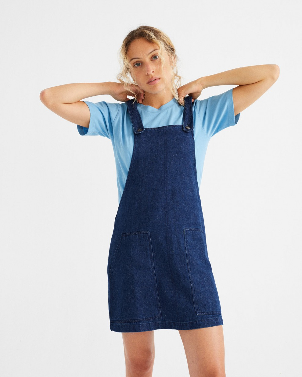 VESTIDO CAMPANILLA HEMP DENIM