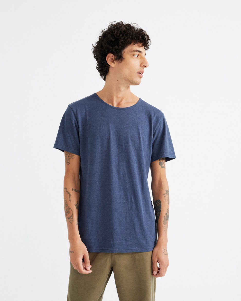 CAMISETA HEMP NAVY