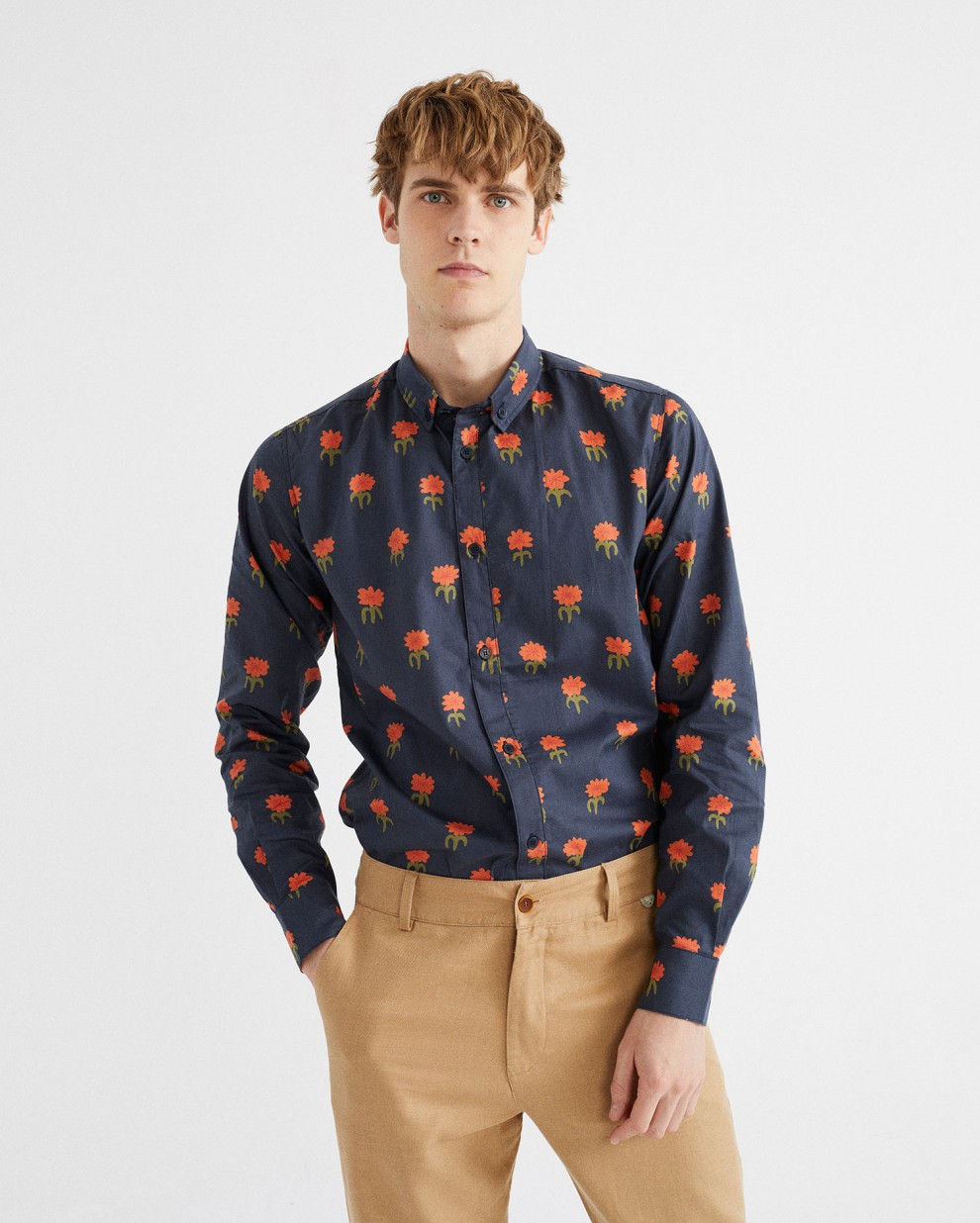 CAMISA ANT CARNATIONS