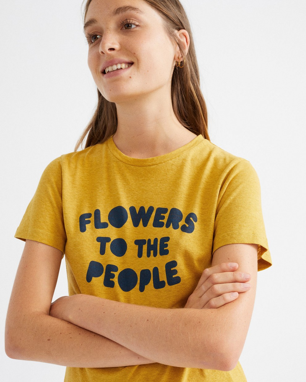 FLOWERS TO THE PEOPLE T-SHIRT