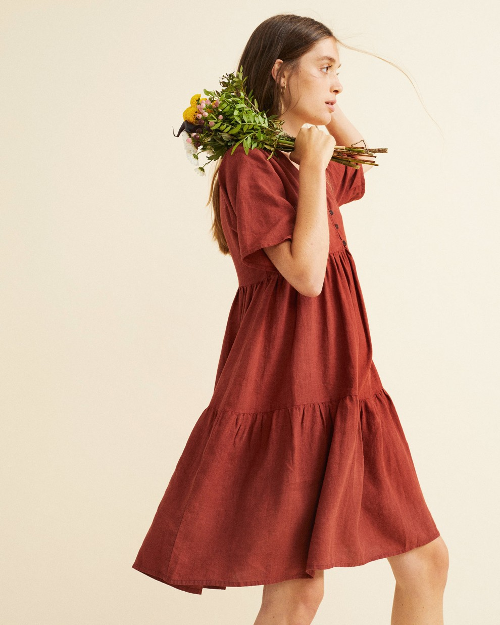 TEJA HEMP FRESIA DRESS