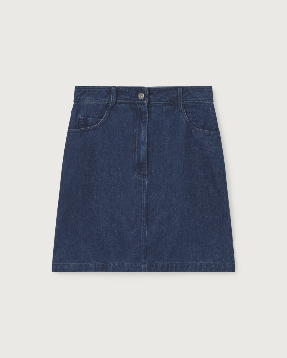 DENIM HEMP MARSHA SKIRT