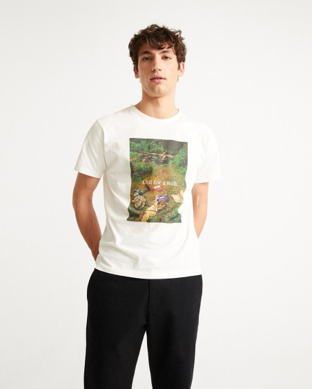 CAMISETA OUT FOR A WALK