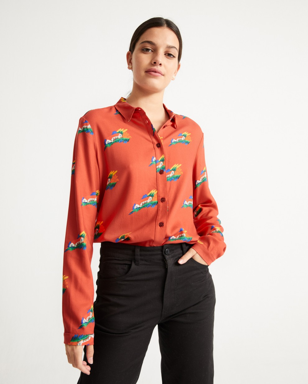 SWEET HOME CHAMOMILE BLOUSE