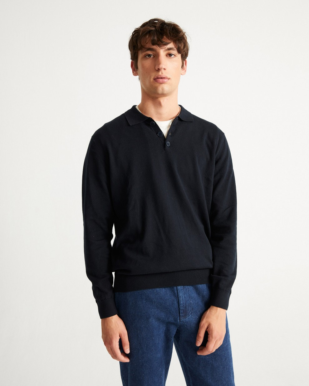JERSEY POLO VINVENT NAVY