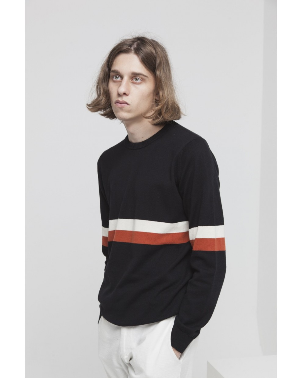 Black Knitted RCPB Sweater